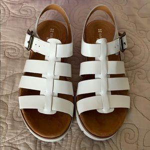 New Naturalizer White Sandals